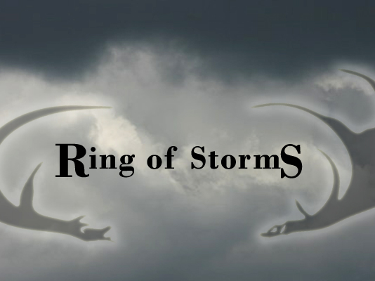 Promotional artwork for the feature film, Ring of Storms