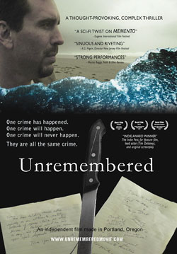 Unremembered, an independent sci fi film